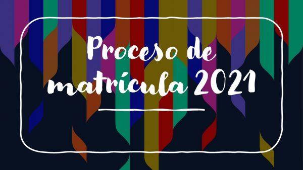 Circular Proceso de Matrícula 2021